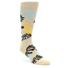 Richer Poorer Lagoon Oatmeal Socks