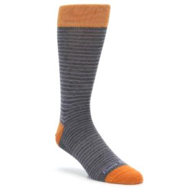 Darn Tough 1650 GRAY Classic Stripe Men's