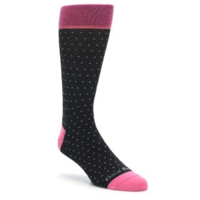 Darn Tough Polka Dot Socks Charcoal Men's