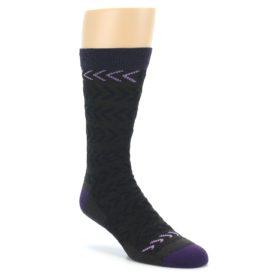 Darn Tough Chevron Brown Men's Socks
