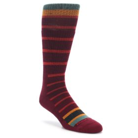 Darn Tough Via Ferrata Burgundy Men's Boot Sock