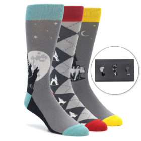 Great Outdoors Men's Novelty Dress Sock Gift Box