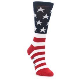 USA Made Women's American Flag Socks