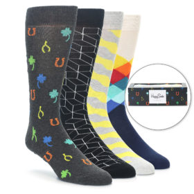 Happy Socks Lucky Charm Men's Sock Gift Box