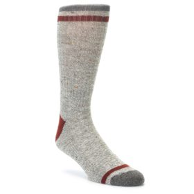 Smartwool Larimer Taupe Crew Socks