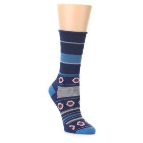 Smartwool Women's Glacial Blue Dazed Dandelion Socks