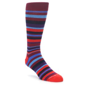 Red Stripe Socks for Men
