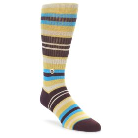 Stance men's Hyena M Burgundy Socks