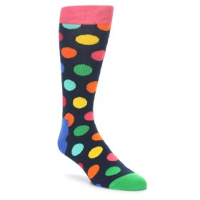 Happy Socks Bright Polka Dot Men's Socks