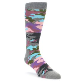 Happy Socks Bark Camo Pastel Socks for Men
