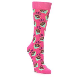 23482-Pink-Limes-Womens-Dress-Socks-Happy-Socks01