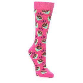 23482-Pink-Limes-Womens-Dress-Socks-Happy-Socks01