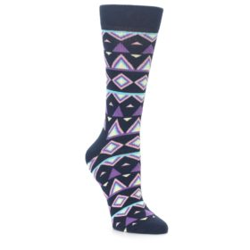 Happy Socks Women's Temple Socks Navy