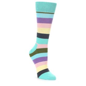 Women's Happy Socks Pastel Stripes