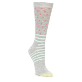 Women's Happy Socks Stripe and Dot Gray