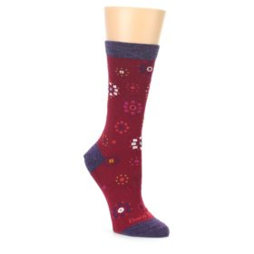 Darn Tough Women's Cranberry Burst Socks