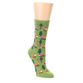 Women's Novelty Fox Socks