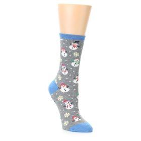 Women's Christmas Snow Men Socks