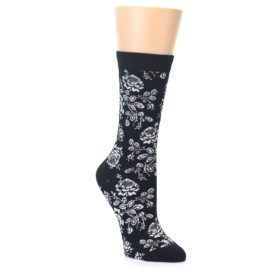 Bamboo Floral Bouquet Women's Socks