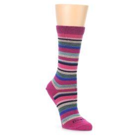 Darn Tough Women's Sassy Stripe Berry Socks