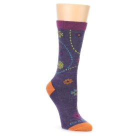 Women's Darn Tough Plum Garden Socks