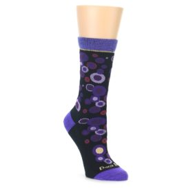 Women's Darn Tough Midnight Bubbles Socks