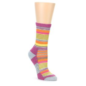 Darn Tough Women's Sierra Stripe Gray Socks