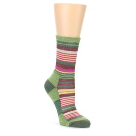 Darn Tough Women's Moss Sierra Stripe Hiking Socks