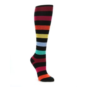 Sock it to Me Women's Knee High Sock Multi Color with Stretchy Calf