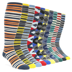 Over the Calf Socks Collection for Men