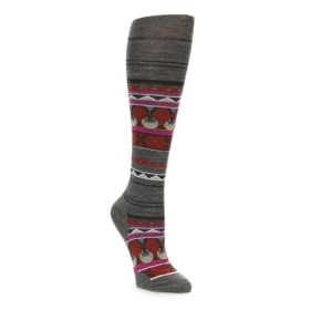 Womens Knee High Charley Harper Seal Socks