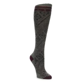 Smartwool Knee High Lingering Lace Taupe