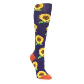 Knee High Sunflower Socks for Women