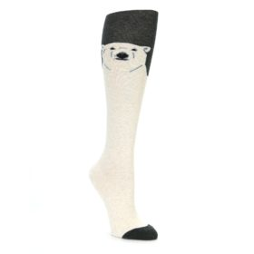 Knee High Polar Bear Socks for Women