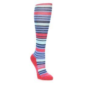 Darn Tough Women's Coral Stripe Knee Socks