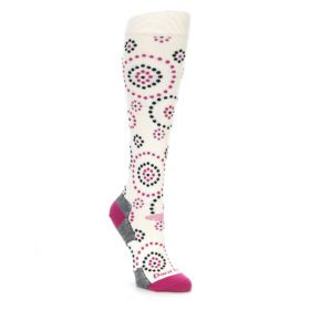 Darn Tough Women's Snow Dots Knee High Socks