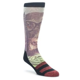 Men's Novelty Hipster Dog Socks