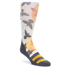 Men's Novelty Bird Silhouette Socks