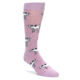 Novelty Cow Socks for Men