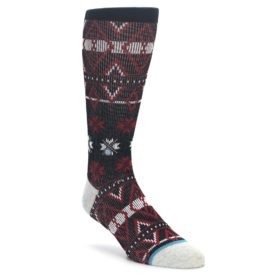 STANCE red black men's casual socks