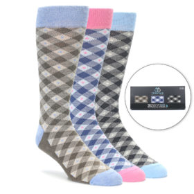 Plaid Sock Gift Box by Statement Sockwear