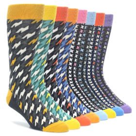 Statement Sockwear Houndstooth Sock Collection