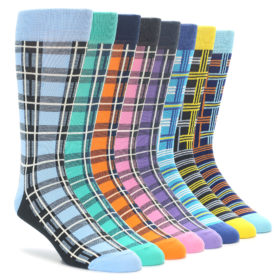 Plaid Sock Collection for Men by Statement Sockwear