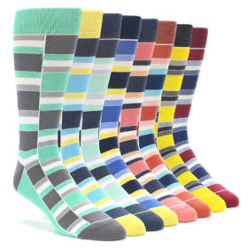 Statement Sockwear Stacked Collection Men's Socks