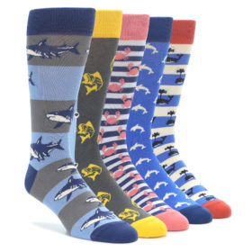 Water Creature Sock Collection by boldSOCKS
