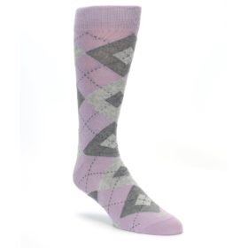Quartz Wedding Argyle Socks for Groomsmen