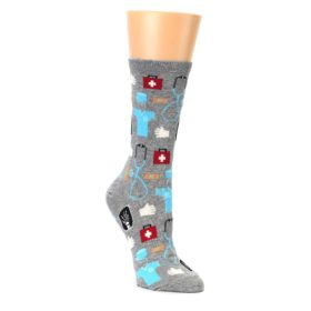 Novelty Women's Nurse or Doctor Socks