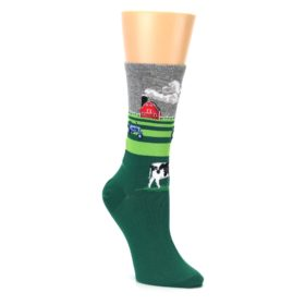 Women's Farm Cow Socks Novelty by Hot Sox