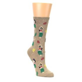 Hawaiian Hula Girl Socks for Women
