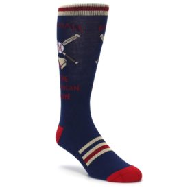 Novelty Men's Baseball Socks
